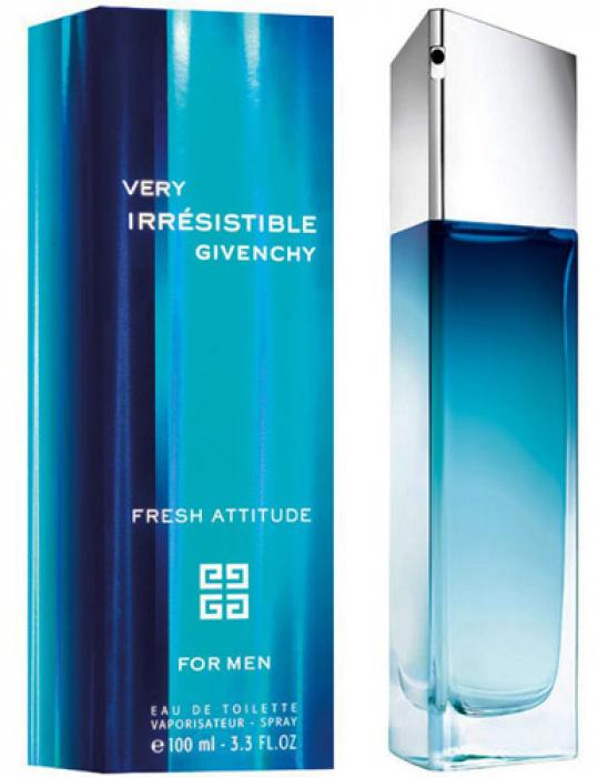 Givenchy Very Irresistible Fresh Attitude купить духи отзывы и
