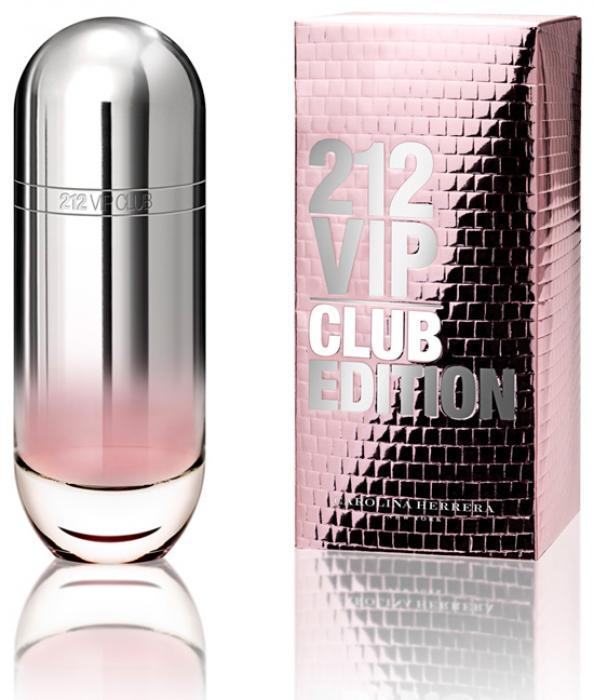 Carolina Herrera 212 Vip Club Edition купить духи отзывы и