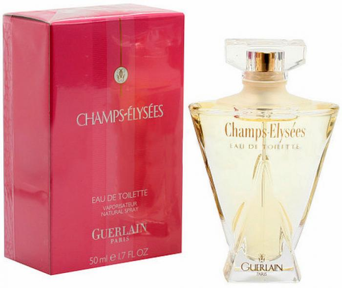 Guerlain Champs Elysees Eau De Toilette купить духи отзывы и