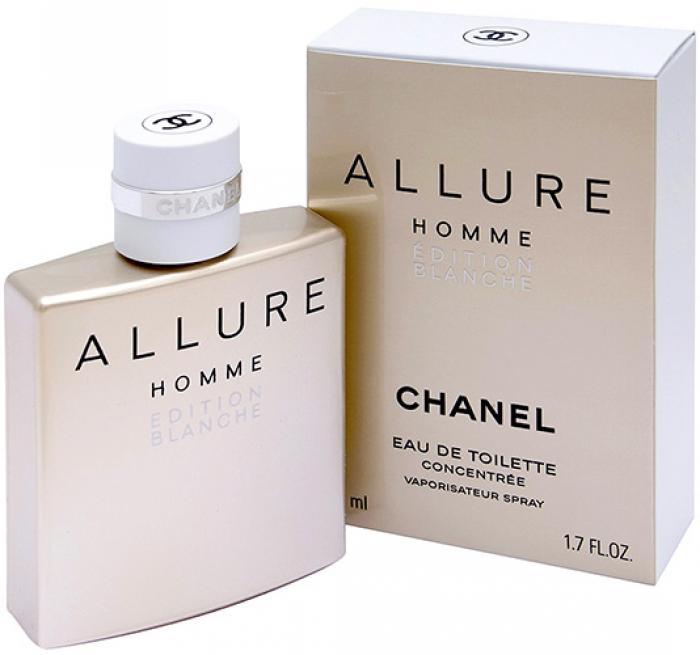 Chanel Allure Homme Edition Blanche Eau De Parfum купить духи